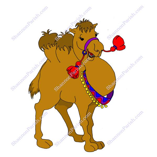 Camel children s book illustration